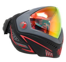 Photos of Dye i5 Paintball Goggle - Red. Photo taken by drpaintball.com