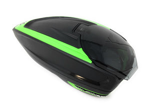 Photos of HK Army TFX Paintball Loader - Black/Green. Photo taken by drpaintball.com