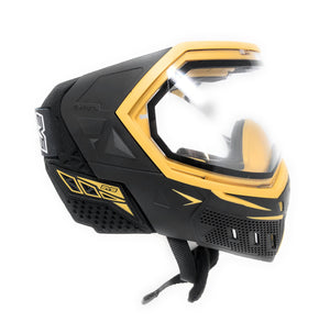 Photos of Empire EVS Paintball Goggles - Black/Gold. Photo taken by drpaintball.com
