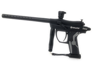 Photos of Spyder Fenix Paintball Marker - Black. Photo taken by drpaintball.com