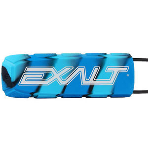 Photos of Exalt Paintball Barrel Cover - Blue Swirl. Photo taken by drpaintball.com