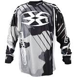 Photos of Empire Contact Zero F6 Jersey - Black/White/Grey - Small. Photo taken by drpaintball.com