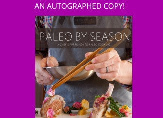 In Honor of National Cookbook Month - Win An Autographed Copy of Paleo By Season!