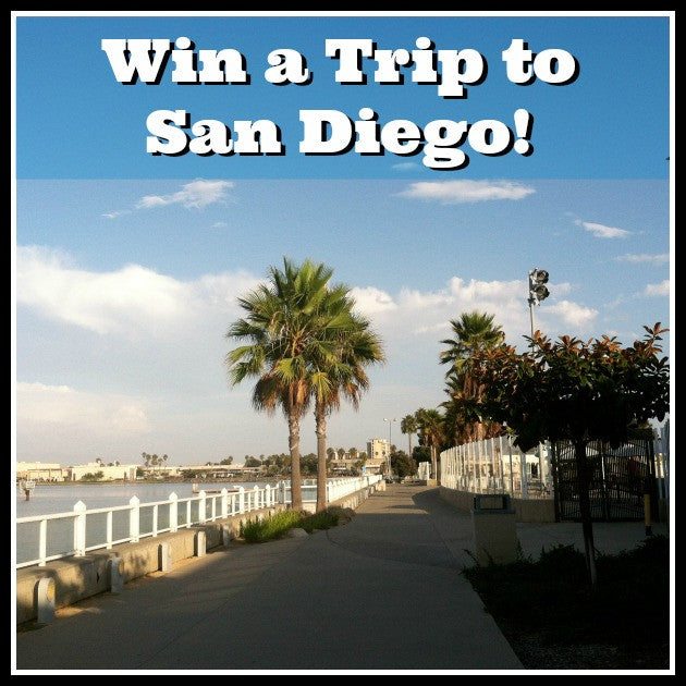 Pre-Order our New Cookbook for a Chance to Win a Trip to Sunny San Diego!