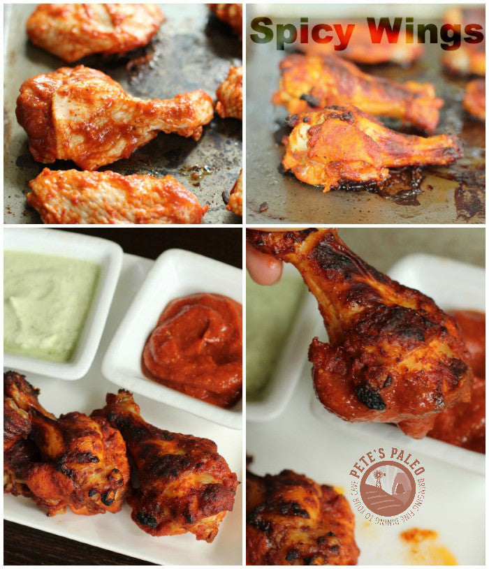 Super Bowl Hot Wings...Paleo Style
