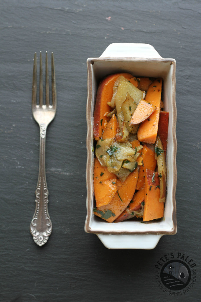 Sweet Potatoes and Pears
