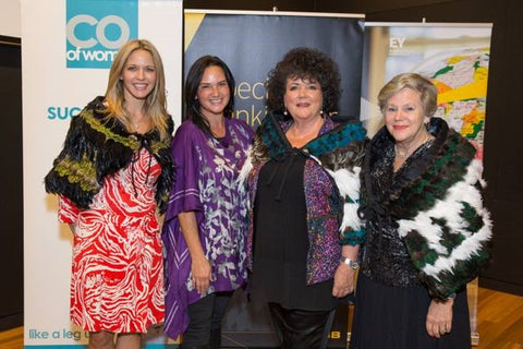 Sharon Hunter Founder PC Direct, Myself, Anita Finnigan founder and CEO of Best Pacific Institute of Education and Anne Norman Owner of the James Pascoe Group
