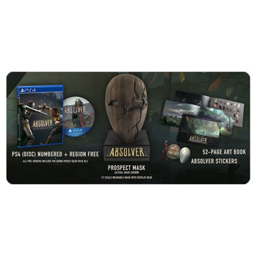 PS4 - Absolver 4 Disc Bundle - Limited Edition Set