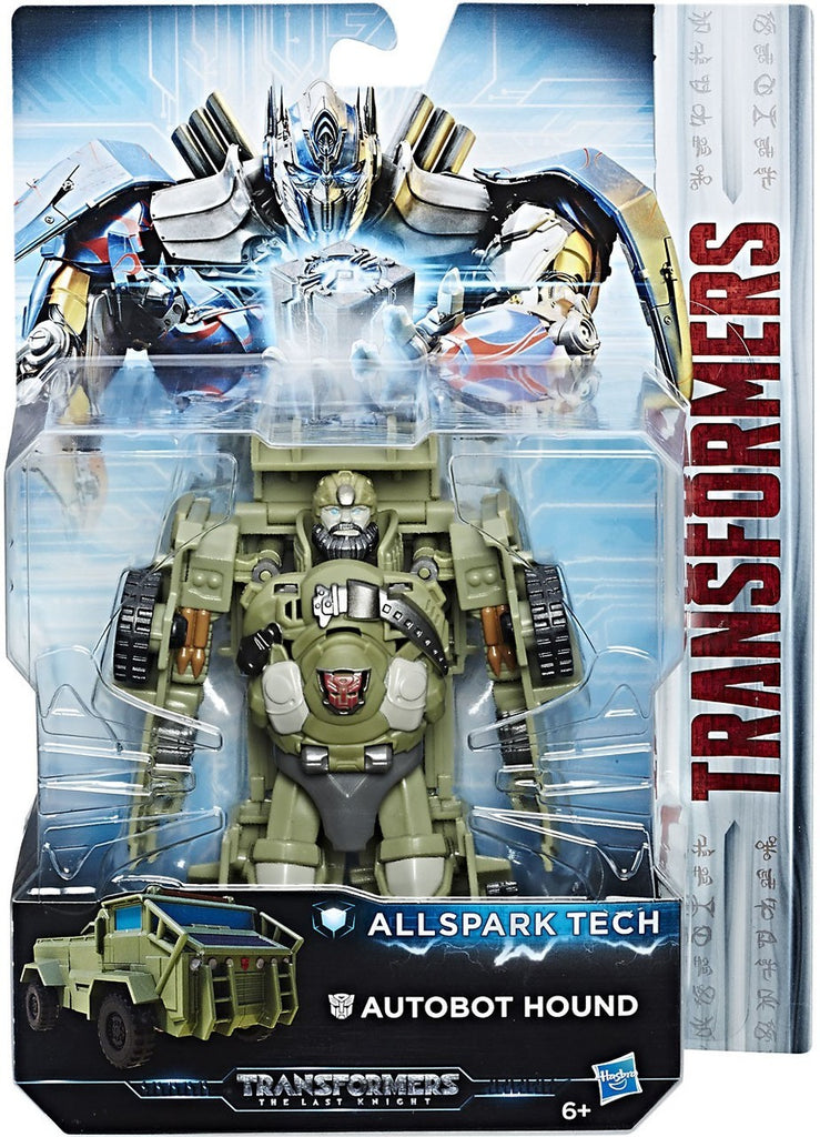 Transformers - Allspark Tech - The Last Knight - Autobot Hound Figure