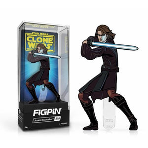 FiGPiN - Star Wars: The Clone Wars - Anakin Skywalker #518 FiGPiN Classic Enamel Pin