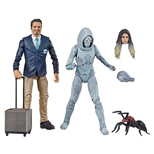 Marvel Legends - Ant-Man and the Wasp - X-Con Luis & Marvel's Ghost