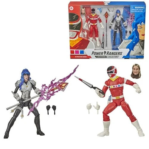 Power Rangers - Mighty Morphin Lightning Collection - In Space Red Ranger & Astronema Set