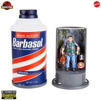 Jurassic Park - Barbasol Dennis Nedry Figure - 2020 SDCC Convention Exclusive