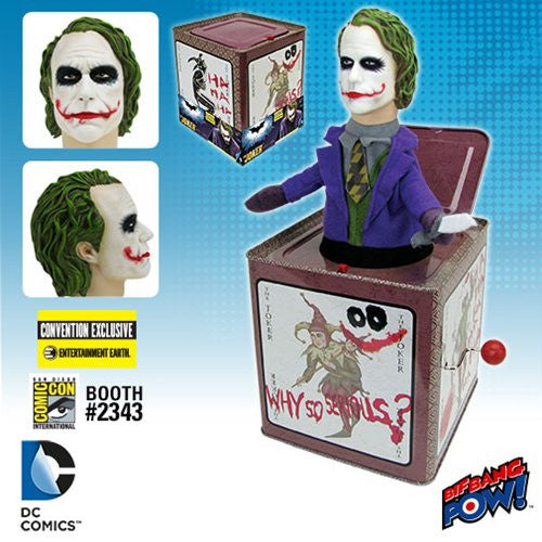 SDCC 2016 Exclusive Batman The Dark Knight Joker Jack In The Box