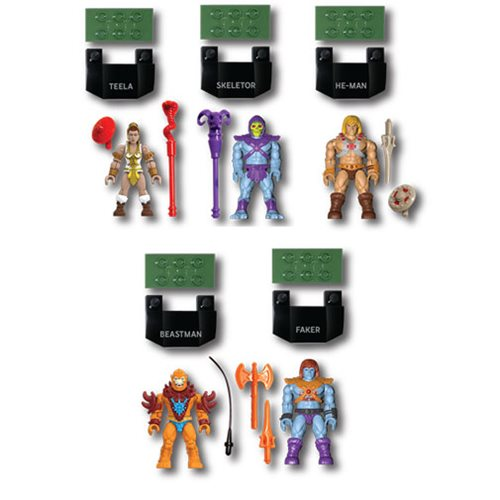Mega Construx - Masters of the Universe - Battle For Eternia Collection (5 Figure Pack)