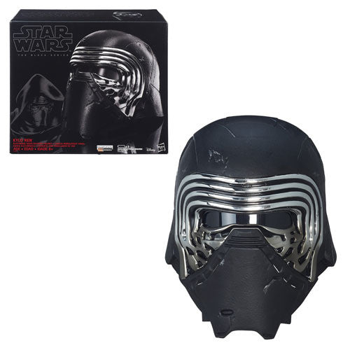 Star Wars - The Force Awakens Kylo Ren Voice-Changer Helmet - The Black Series Prop Replica