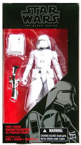 Star Wars - Black Series - First Order Snowtrooper #12 (Gun Out of Hand)