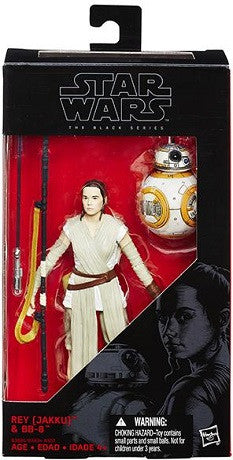 Star Wars - Black Series - Rey (Jakku) With BB-8 #02 (w/lightsaber)