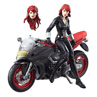 Marvel Legends - Ultimate Pack - Black Widow With Motorcycle