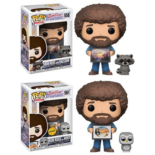 Funko Pop! - Television Series - Bob Ross #558 - CHASE COMBO!