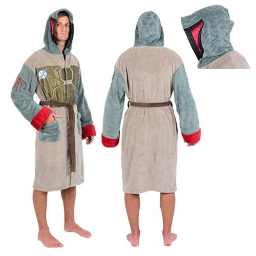 Star Wars Boba Fett Armour Fleece Robe