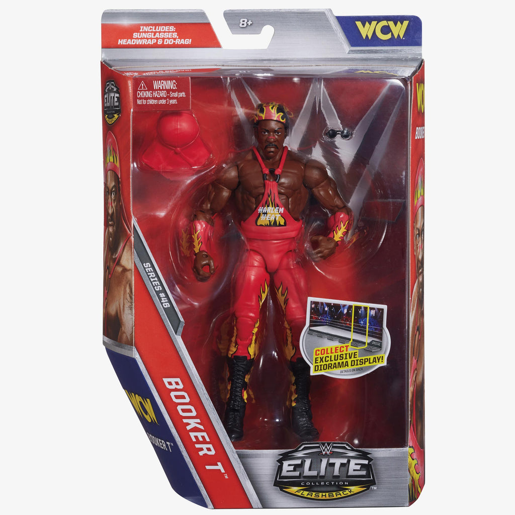 WWE - Elite Collection Series #46 - WCW Booker T