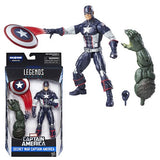 Marvel Legends - Captain America Civil War - Secret War Captain America BAF Abomination