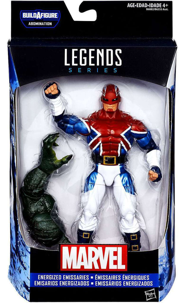 Marvel Legends - Captain America Civil War - Captain Britain BAF Abomination