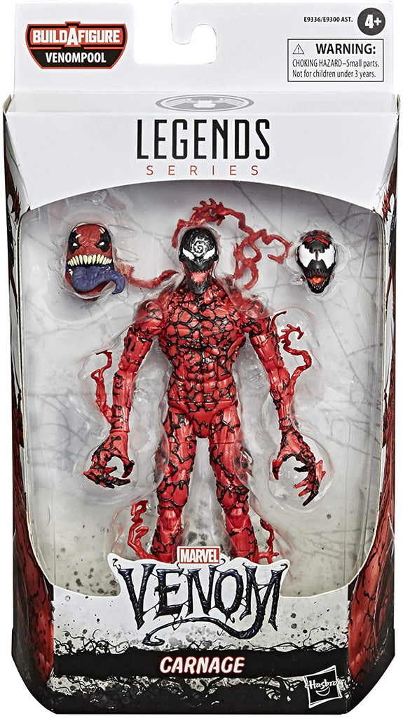 Marvel Legends - Venom Series  - Carnage (Venompool BAF)