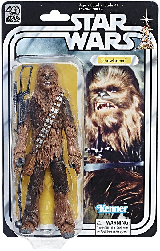 Star Wars - 40th Anniversary Black Series Figure - Chewbacca