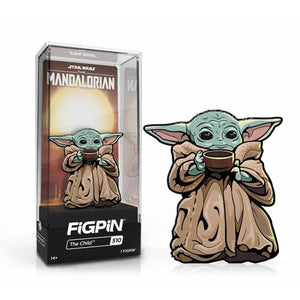 FiGPiN - Star Wars: The Mandalorian - The Child (With Soup/Cup) #510 FiGPiN Classic Enamel Pin
