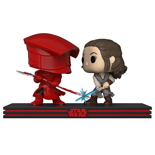 Funko Pop! - The Last Jedi - Rey and Praetorian Guard Movie Moments #264 (Clash On The Supremacy)
