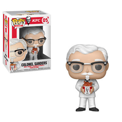 PREORDER - Funko Pop! - KFC's Colonel Sanders With Bucket of Chicken #05