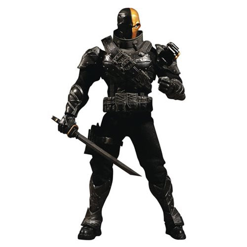 Mezco - One:12 Collective Action Figures - DC Comics Stealth Deathstroke Previews Exclusive