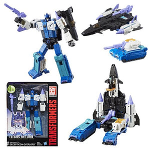 Transformers - Titans Return - Dreadnaut & Decepticon Overlord