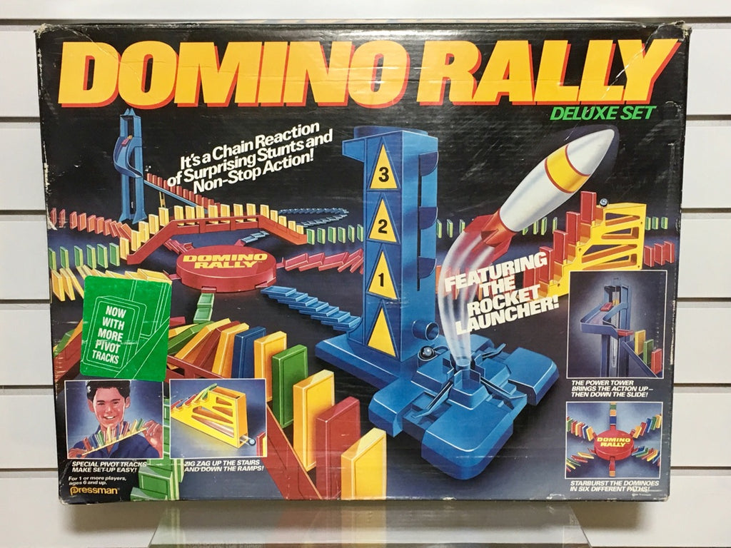 Vintage - Domino Rally Deluxe Set by Pressman (1989)