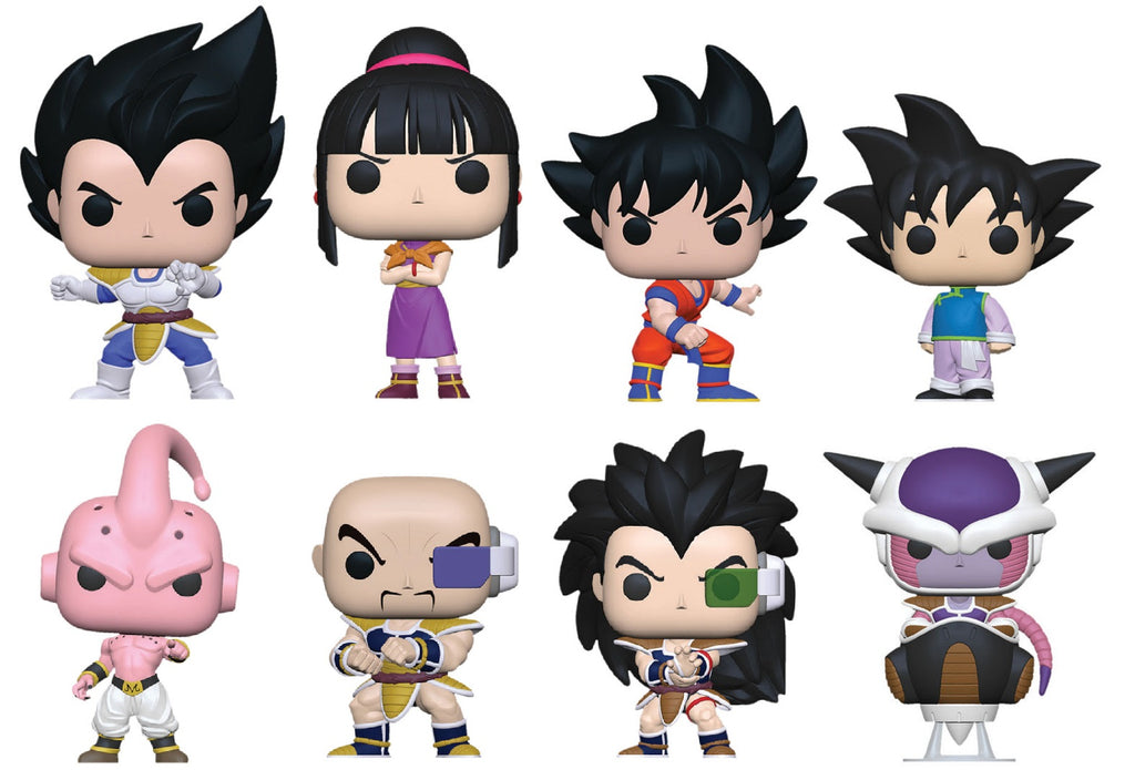 PREORDER - Funko Pop! - Dragon Ball Z - Season 6 Set (8 Pops)