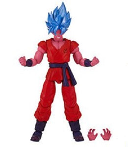 Bandai - Dragon Star Series Action Figure - Dragon Ball Z Super Saiyan Blue Kaioken X 10 Goku