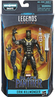Marvel Legends - Black Panther Movie - Erik Killmonger BAF Okoye