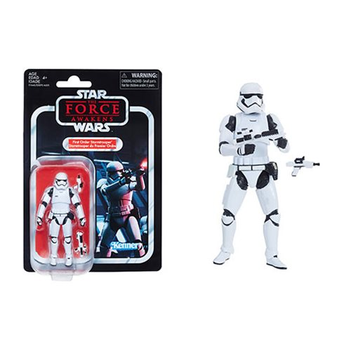 Star Wars - The Vintage Collection - First Order Stormtrooper (TFA) 3.75 Inch