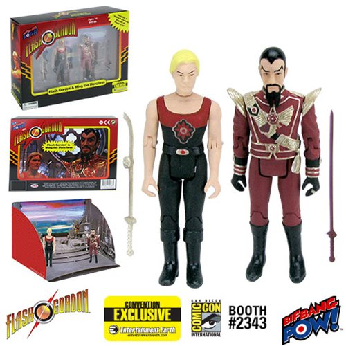 Bif Bang Pow - Flash Gordon Movie Series - Flash Gordon and Ming Hawk City Scene Limited Edition - EE Exclusive DAMAGED BOX