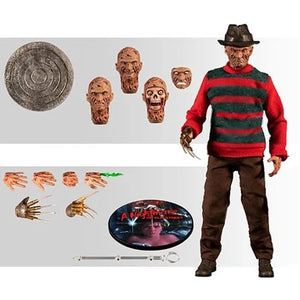 Mezco - One:12 Collective Action Figures - A Nightmare on Elm Street Freddy Krueger