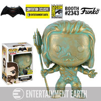 Funko Pop! - Batman v Superman: Dawn of Justice Aquaman Patina Figure SDCC Exclusive #87