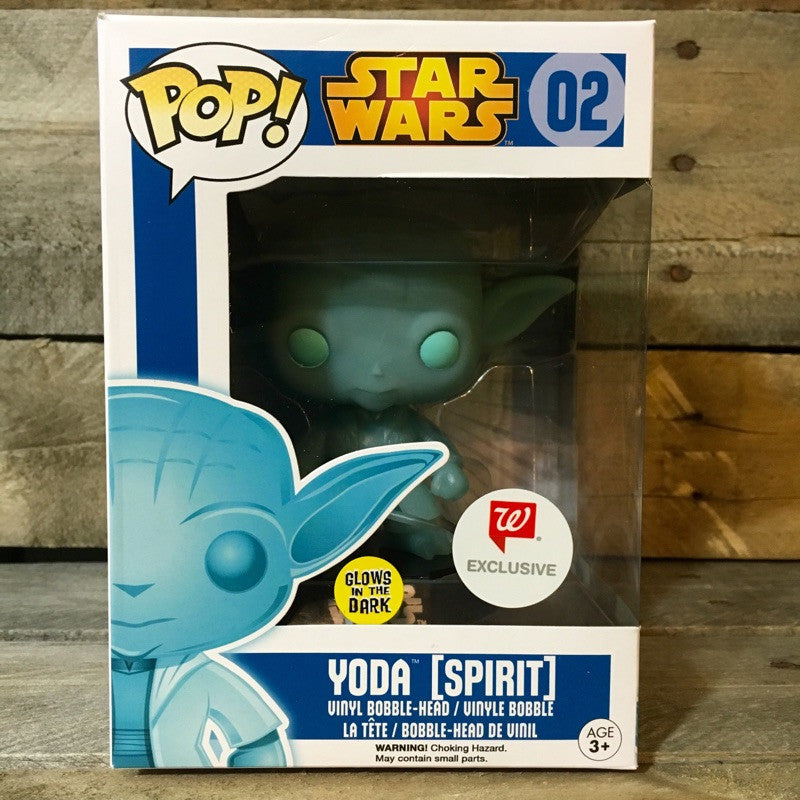 Funko Pop! - Star Wars Yoda Spirit Glow in the Dark #02 - Walgreen's Exclusive