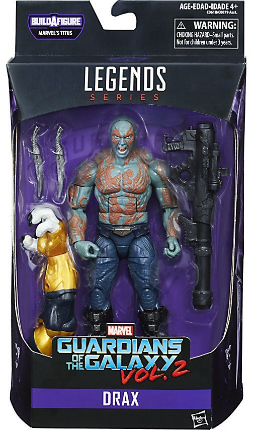 Marvel Legends - Guardians of the Galaxy Vol. 2 - Drax BAF Titus