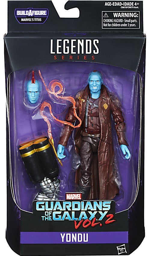 Marvel Legends - Guardians of the Galaxy Vol. 2 - Yondu BAF Titus