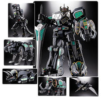 PREORDER - Bandai - Mighty Morphin Power Rangers GX-72B Megazord Black Version Soul of Chogokin Action Figure - SDCC 2018 Exclusive