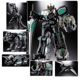 Bandai - Mighty Morphin Power Rangers GX-72B Megazord Black Version Soul of Chogokin Action Figure - SDCC 2018 Exclusive