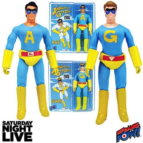 Bif Bang Pow - Saturday Night Live - Gary & Ace - The Ambiguously Gay Duo Figure Set