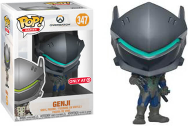 Funko Pop! - Overwatch - Genji (Carbon Fiber) #347 Target Exclusive
